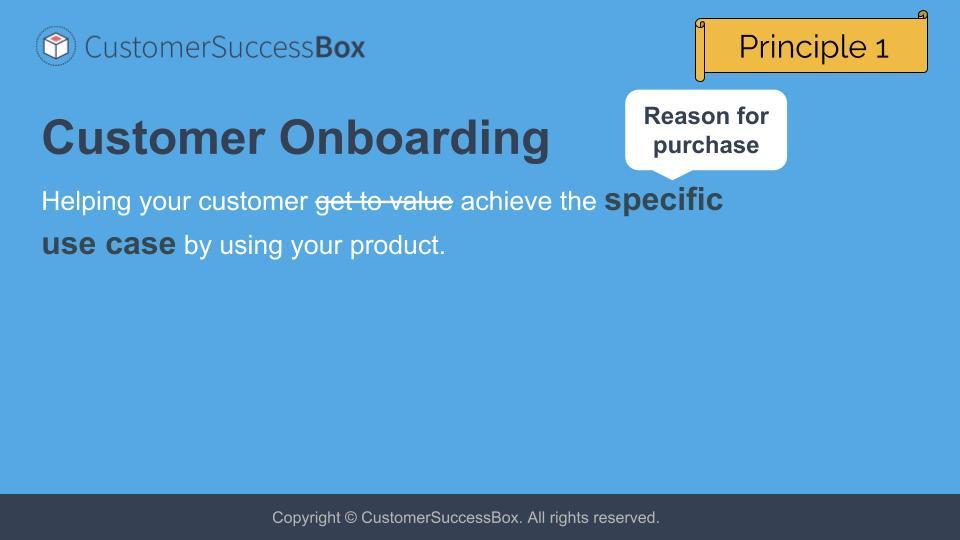 Customer Onboarding Framework for B2B SaaS - CustomerSuccessBox